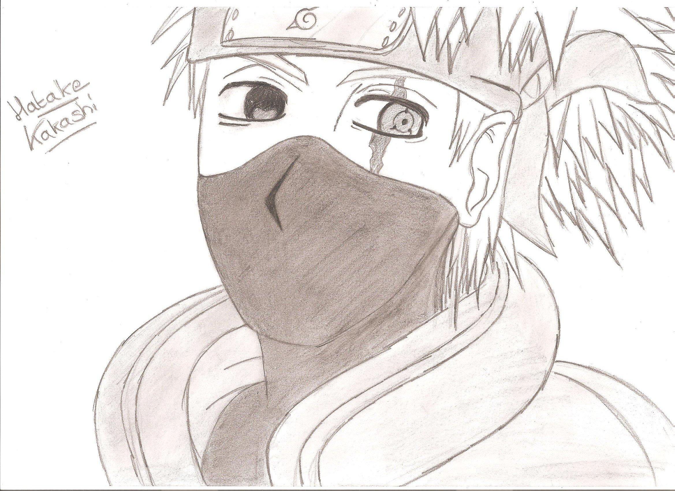 Naruto Kakashi 9 1 Mes Dessins